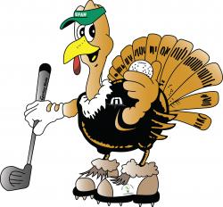 Turkey Golfer Logo (Fiverr) - August 2021
